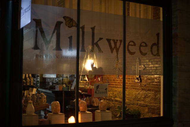 The beautiful Milkweed flagship store in bustling downtown Hopkinsville, Kentucky