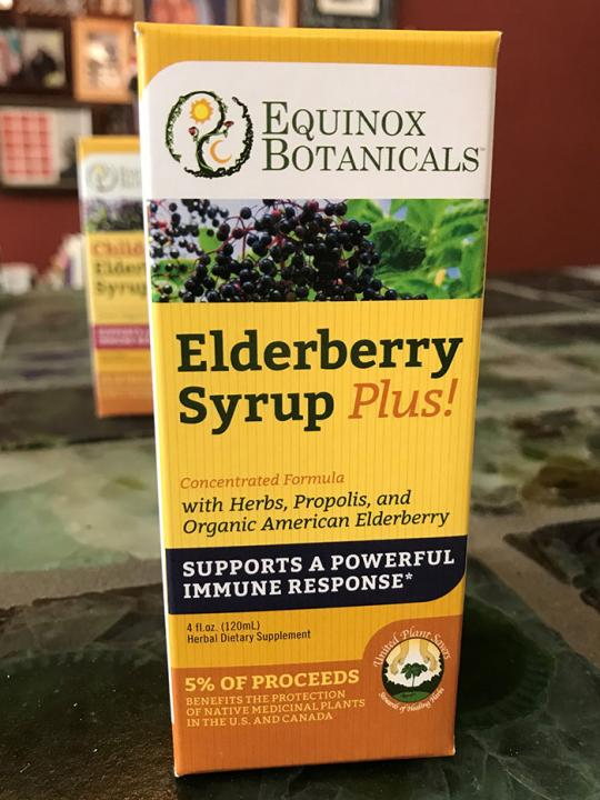 Elderberry Syrup (adult)