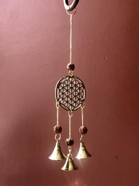 Flower of Life Wind Chime