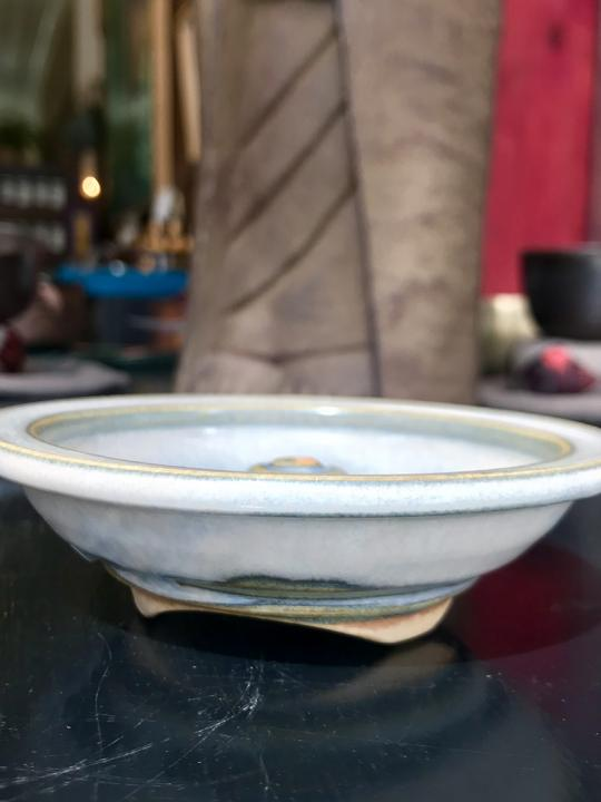 Shoyeido Incense holder (round), Moon Glow