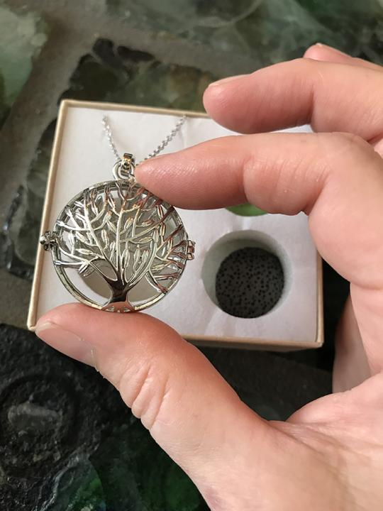 Diffuser Necklace Tree of Life (large)