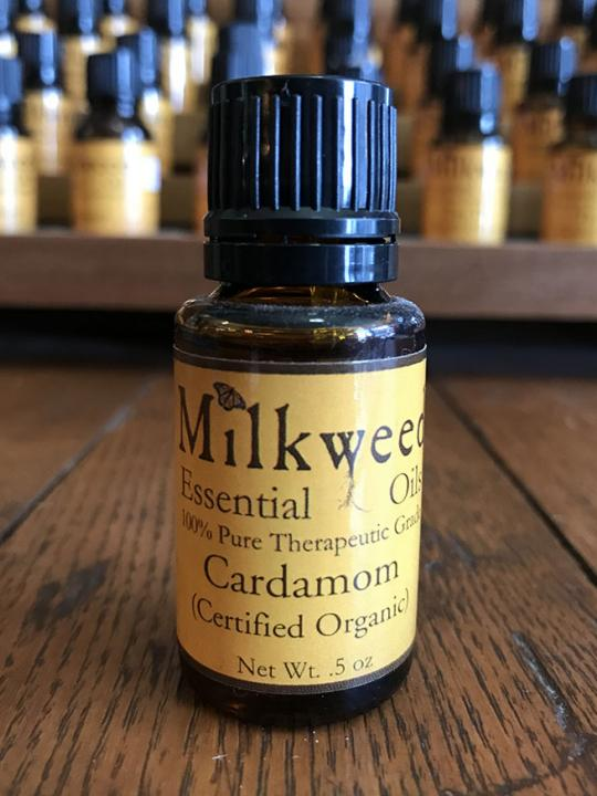 Cardamom Essential Oil, certified organic