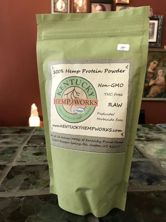 Kentucky Hemp Works Hemp Protein Powder