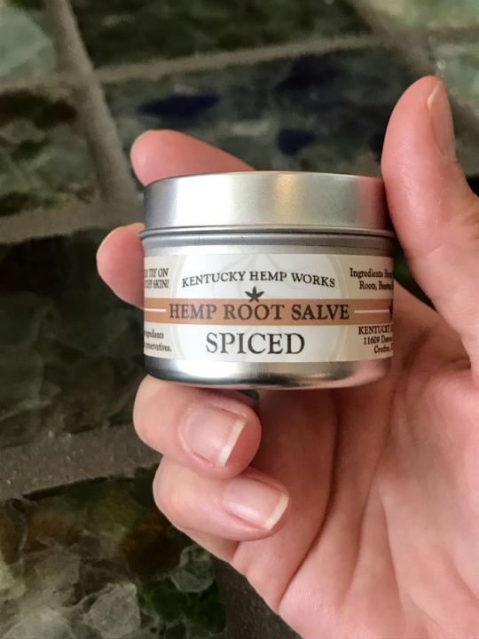 Kentucky Hemp Works Hemp Salve, Spiced 2.oz