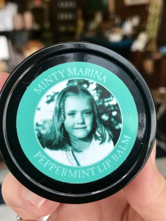 Minty Marina Lip Balm