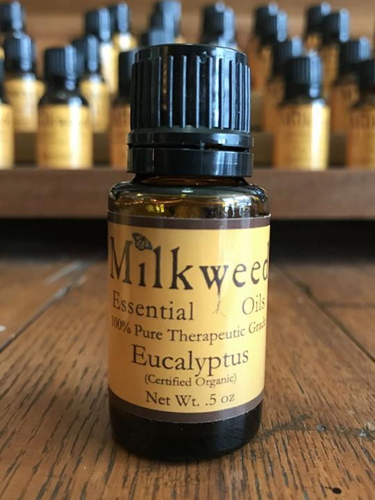 Eucalyptus Essential Oil, Certified Organic