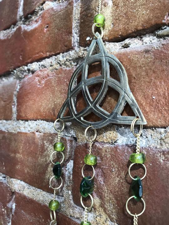 Celtic Knot Wind Chime