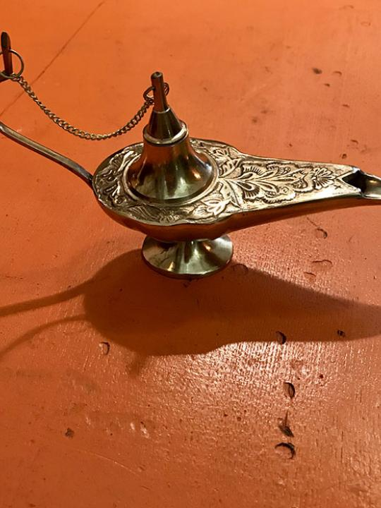 Aladdin Lamp Burner
