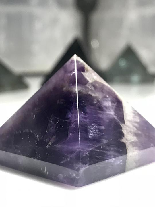 Amethyst Pyramid 25MM