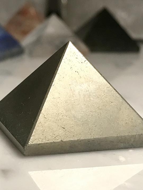 Pyrite Pyramid 25MM